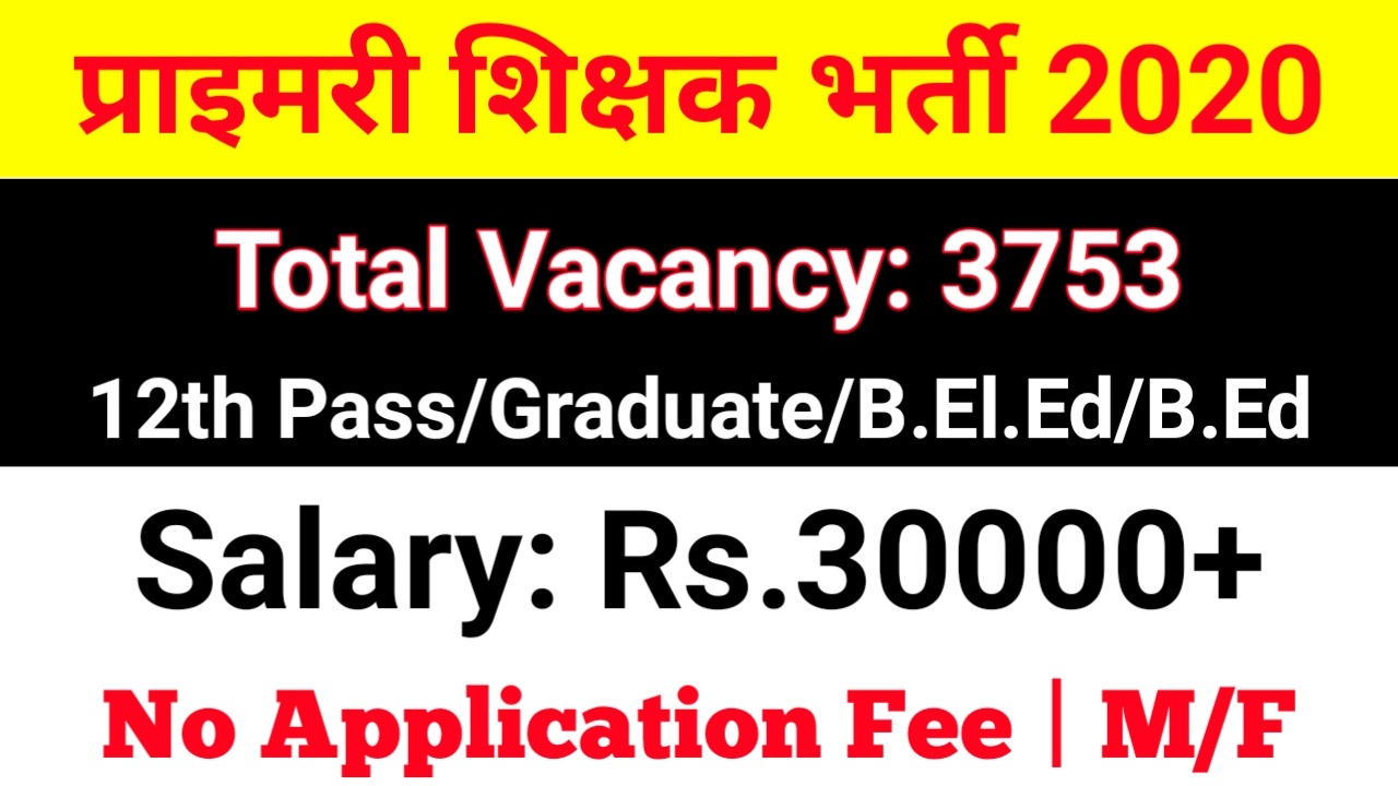 SSA Assam Teacher Jobs 2020