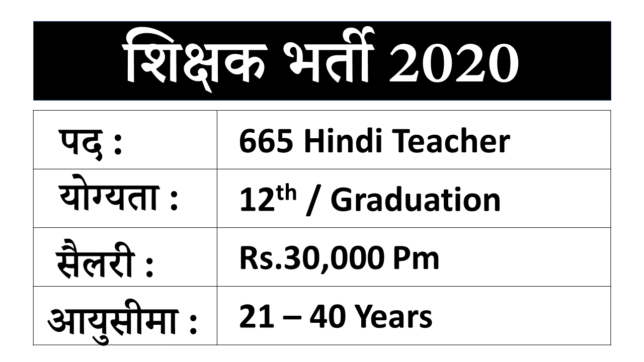 Mizoram Teacher Jobs 2020
