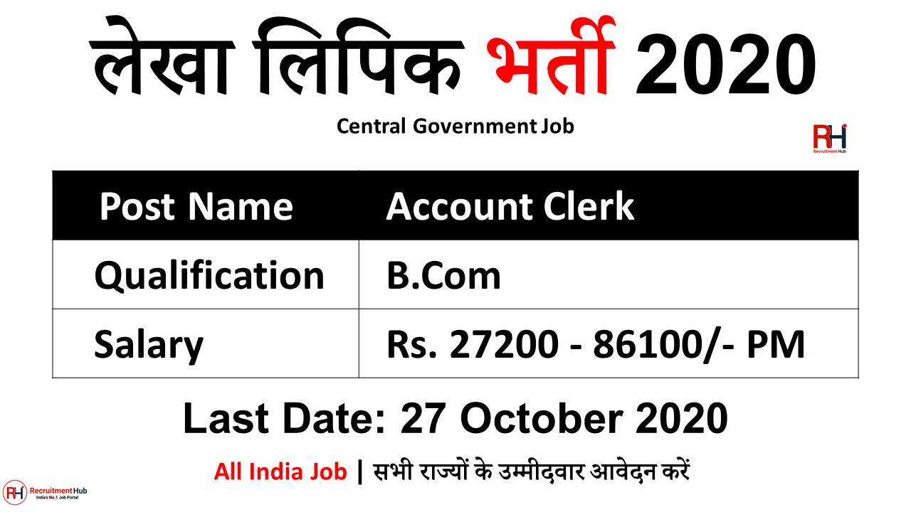 UPPCL Account Clerk Jobs 2020