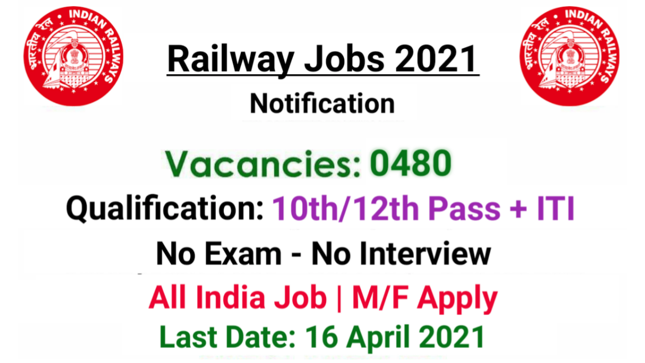 North Central Railway NCR Recruitment 2021